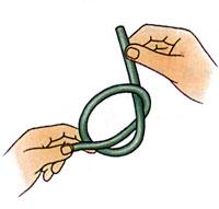 Затягиваем узел